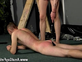 Amazing blonde boys victim Boy Fed Hard Inches