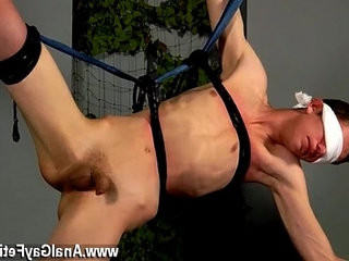 Twink sex Blindfolded Bum Boy Damien