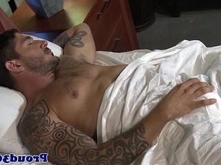 Mature gay hunk fucking tattootooed tweak