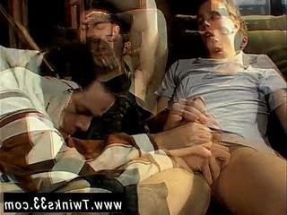 Free emo gay twink porn films Garage Smoke Orgy