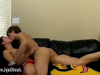 Naked studs Both youngster boners are rock hard and pulsating and
