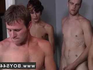 adorable gay butt image Landon ravaged and spunk soaked!