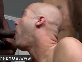 Gay big nuts at work Michael Madison the Bukkake railr!