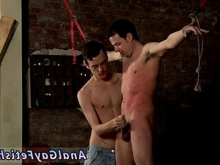 Foot fetishes of youthful gay male emos suspended Boy Made To spunk Hard