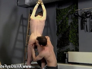 Spanking homophile boy penis Dan Spanks And Feeds Reece