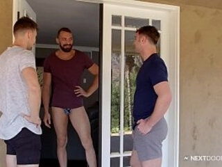 Oops! Johnny Booty Calls 2 Michaels By Accident - NextDoorBuddies