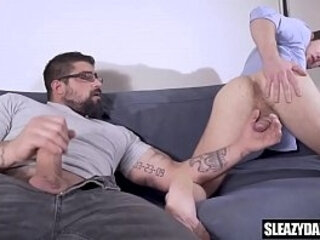 Stepdad gives son a photography lesson - real gay taboo