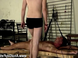 homo clip of The final insult of another dudes jizz dumped on him will