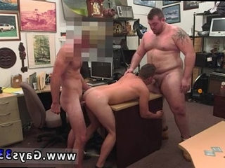 Straight mutual getting off masculine gay Guy finishes up with fuck